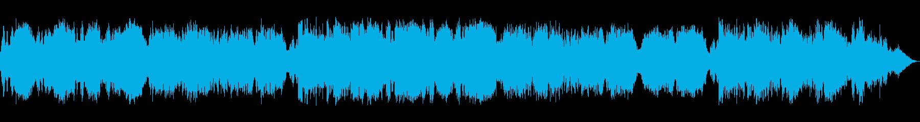 ストリングス中心のバラード曲です。の再生済みの波形