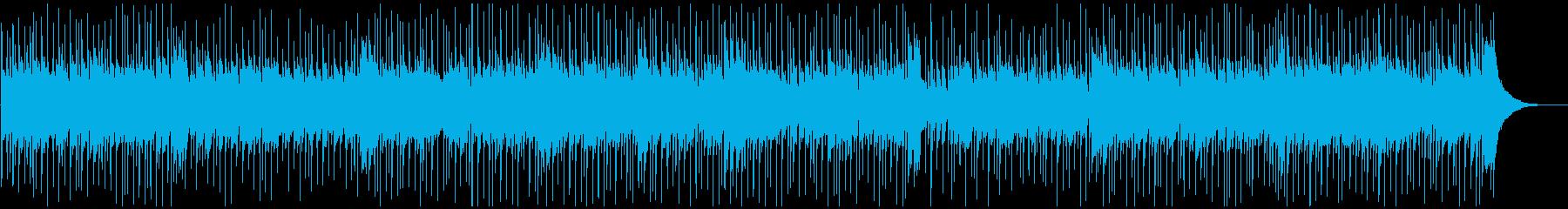ほのぼのカントリーバラードの再生済みの波形