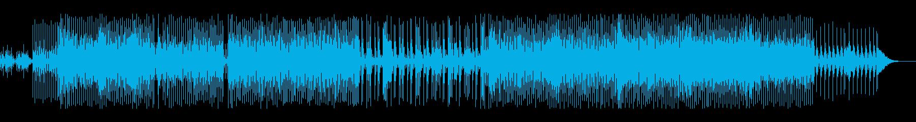展開のある色気と緊迫感があるサウンドの再生済みの波形