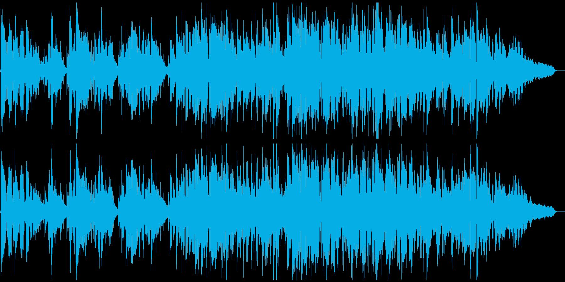 しっとり綺麗、リラックス系の神秘的ジャズの再生済みの波形