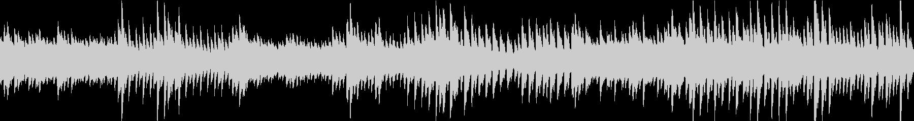 未知なる幻想空間をイメージしたピアノ曲の未再生の波形