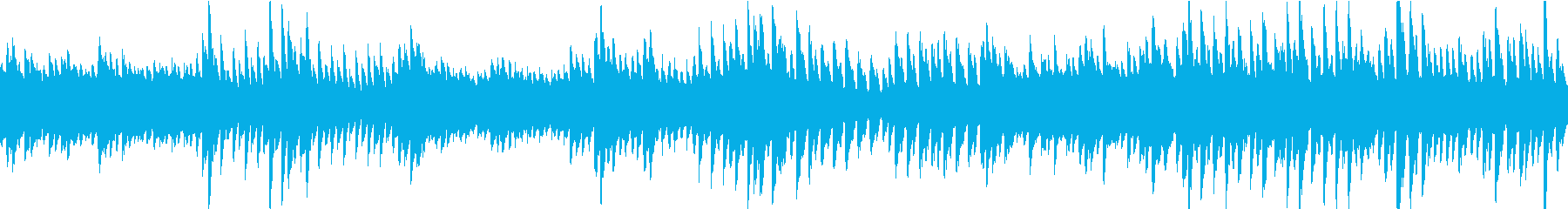 未知なる幻想空間をイメージしたピアノ曲の再生済みの波形