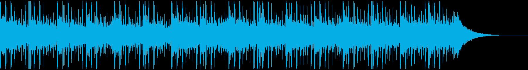 新技術(38秒)の再生済みの波形