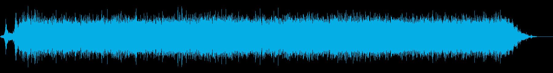 リバーフェリー:ツインディーゼル:...の再生済みの波形