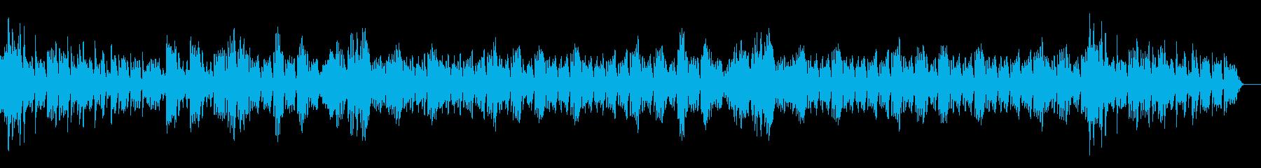 コロナの終息を願う曲/オルゴールの再生済みの波形