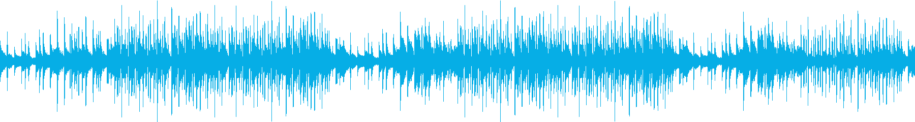 ピアノ・切ない・感動・綺麗・夜・ループの再生済みの波形