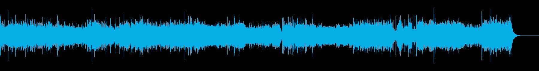 UFOドキュメンタリー番組のBGMの再生済みの波形