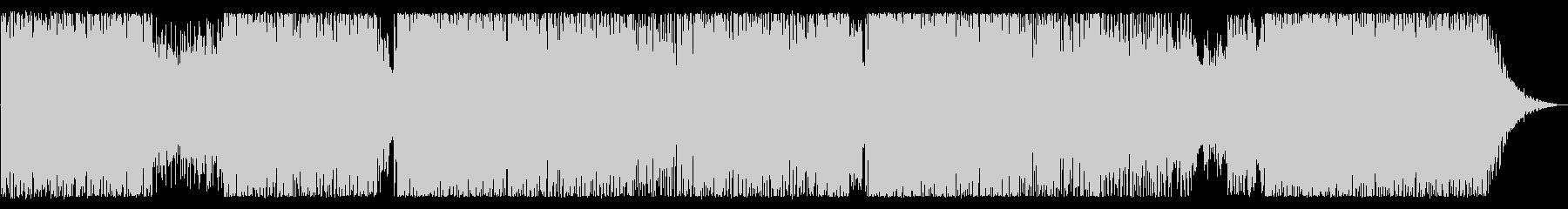 切ない雰囲気のロックバラードの未再生の波形