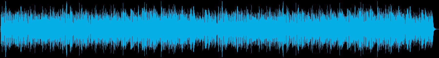 軽快な中世の町BGMの再生済みの波形