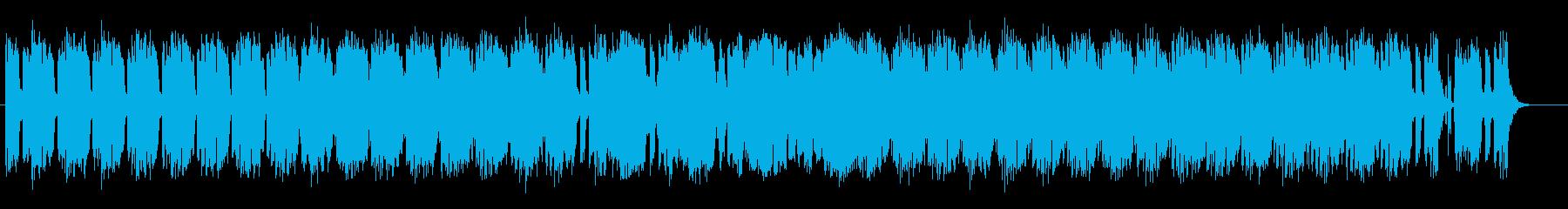 ダークで魅惑的なミュージックの再生済みの波形