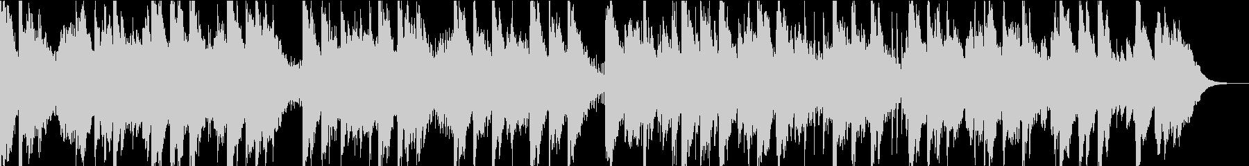 アジアンテイストなシンセによるBGMの未再生の波形