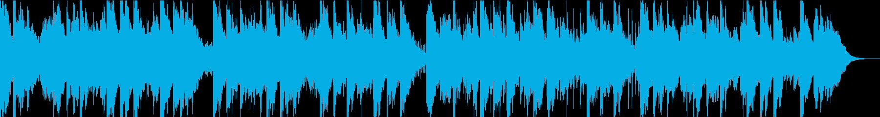 アジアンテイストなシンセによるBGMの再生済みの波形