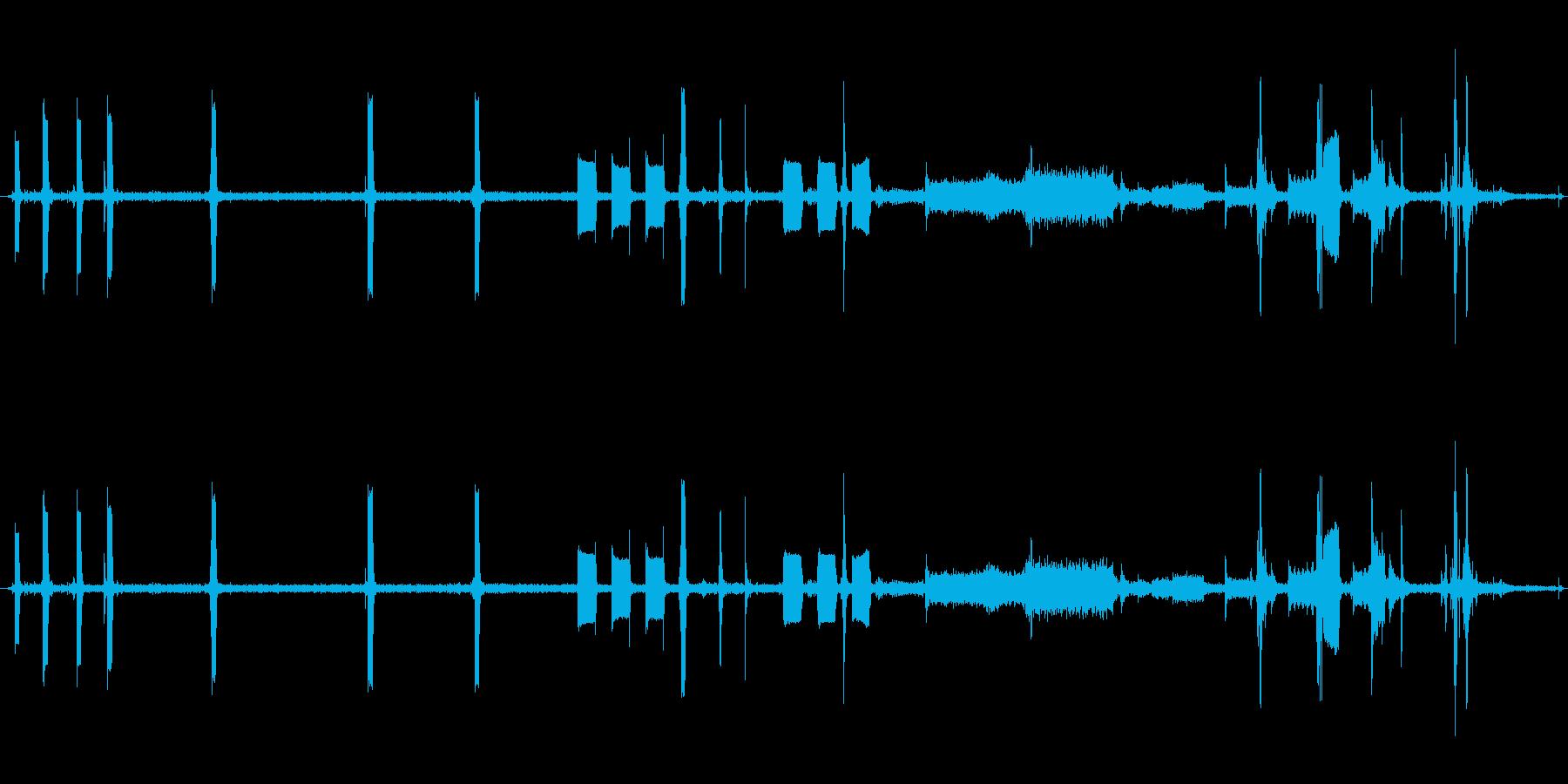 レジの再生済みの波形
