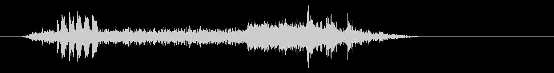 メトロバルセロナヴァゴンの未再生の波形