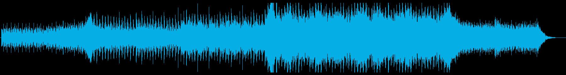 爽やかなピアノ中心のエレクトロの再生済みの波形