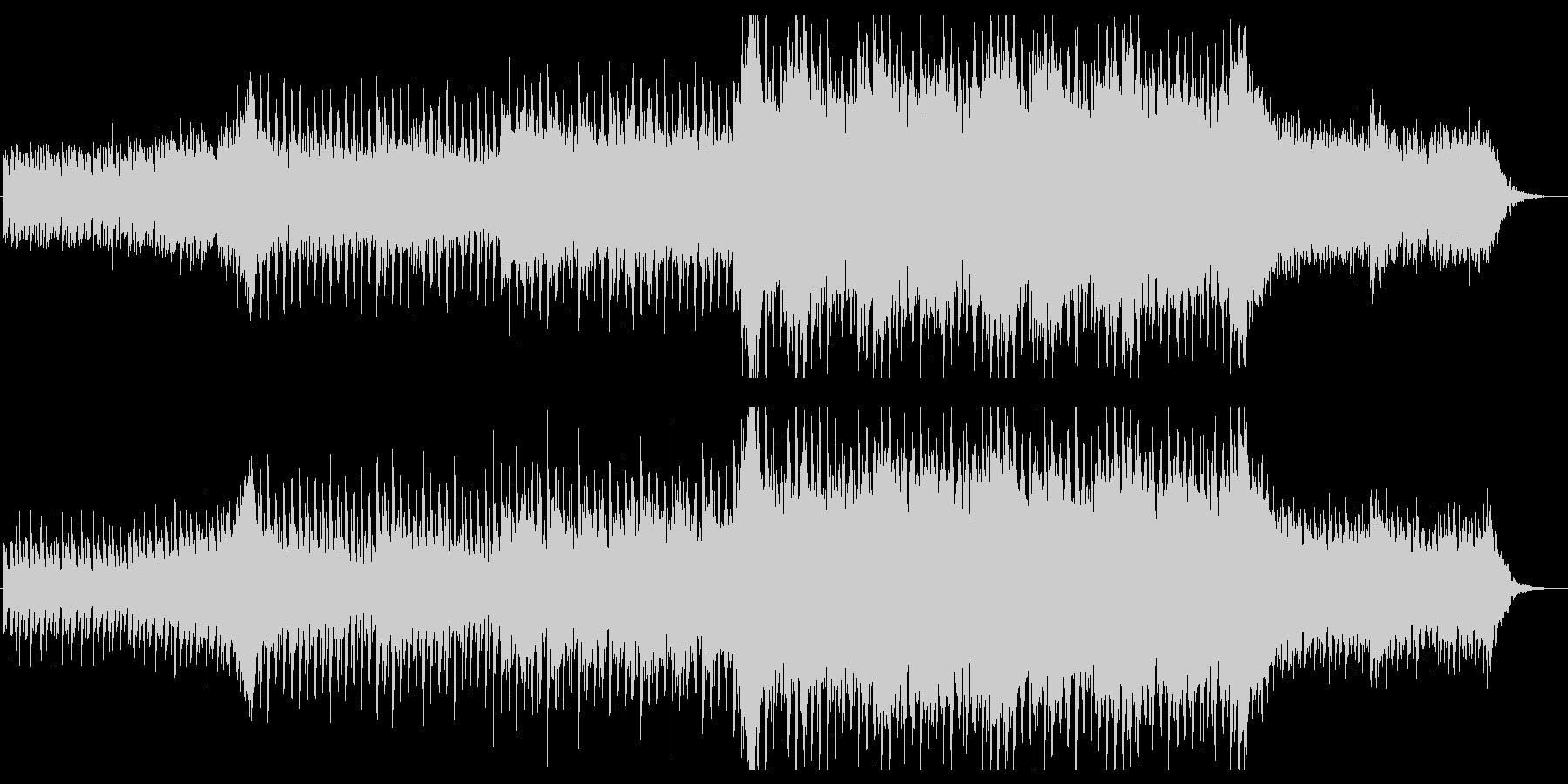 爽やかなピアノ中心のエレクトロの未再生の波形