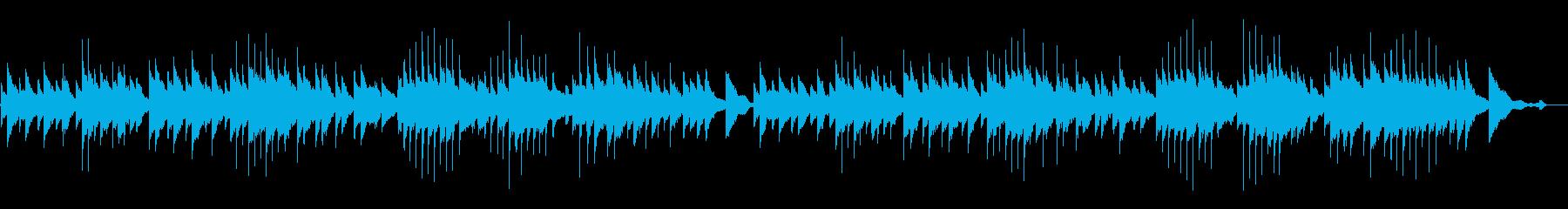 サティーのジムノペディ1番です(原曲)の再生済みの波形