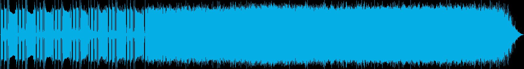 電気楽器。スペーシーな、トリッピー...の再生済みの波形