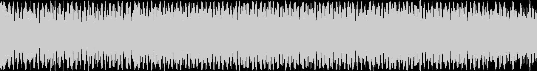 ギターとピアノの落ち着いたループ曲の未再生の波形