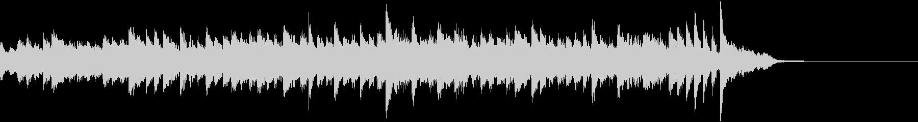 グラツィオーソに演奏したピアノジングルの未再生の波形