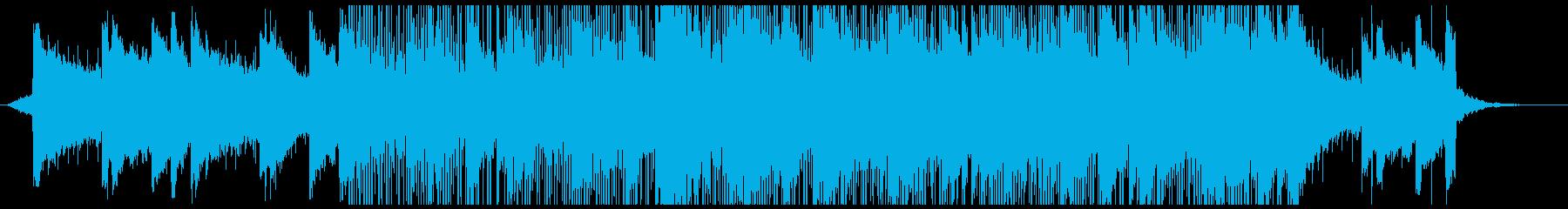 実験的な 緊張感 ワイルド 暗い ...の再生済みの波形