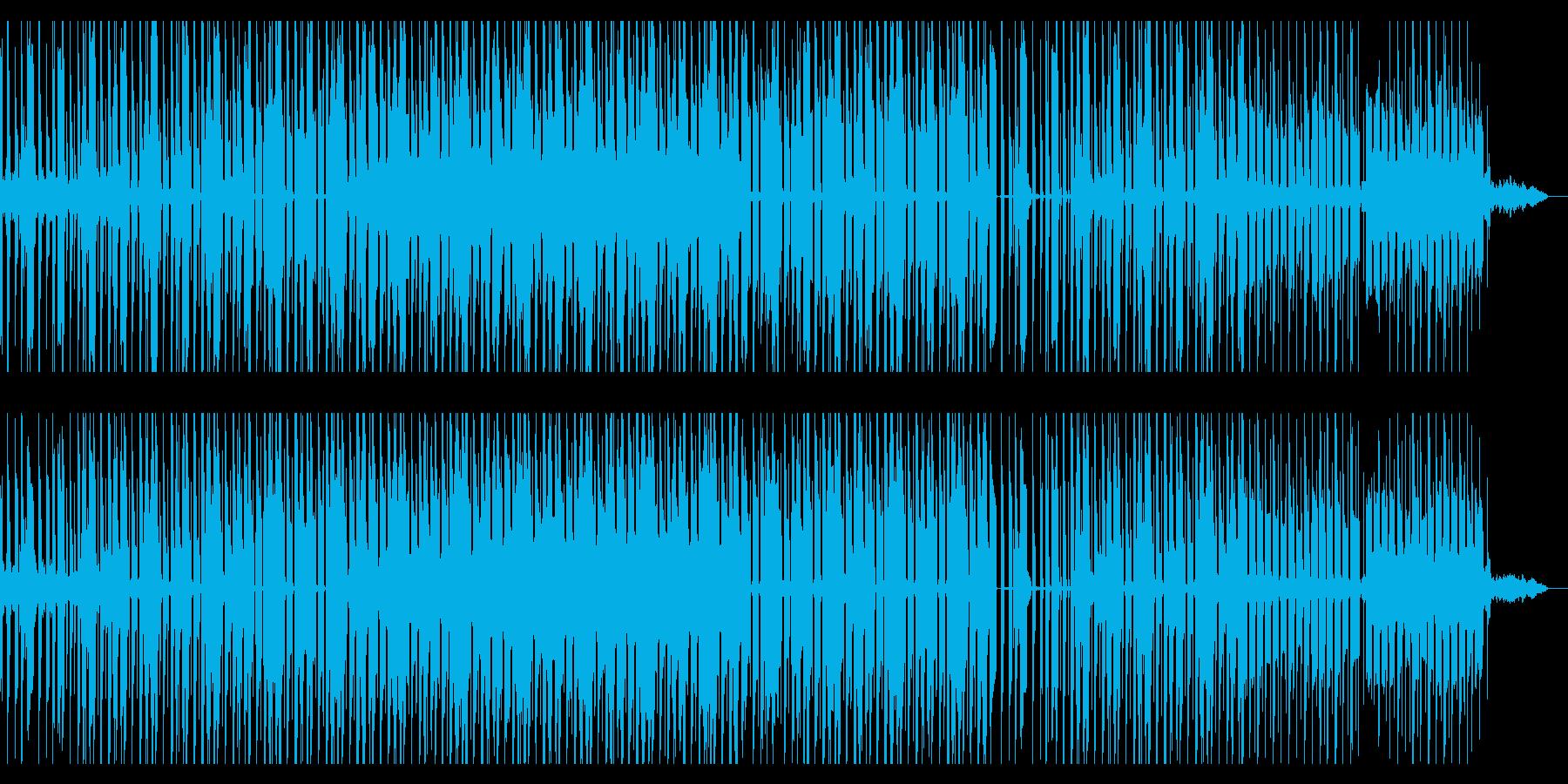 ローファイヒップホップの再生済みの波形