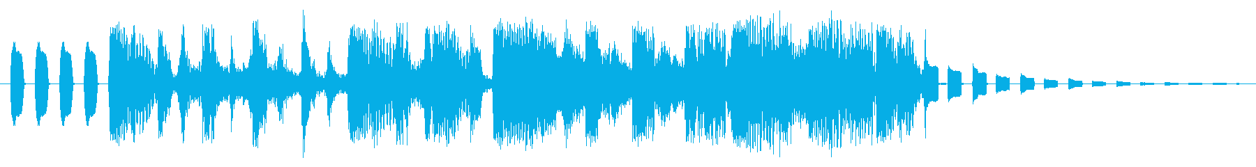 スイープビーツ2の再生済みの波形