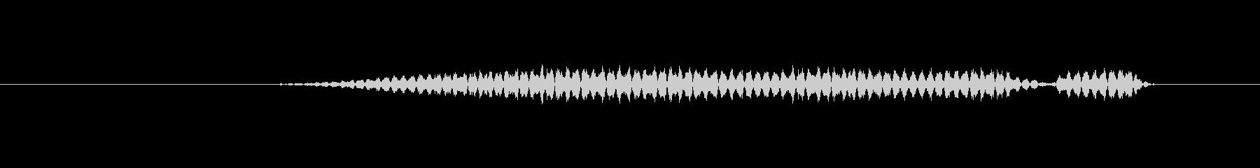 特撮 インターフェースビープ音02の未再生の波形