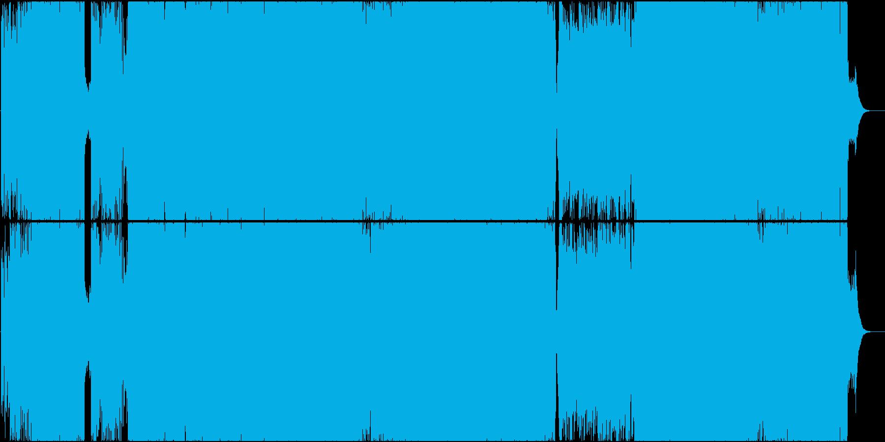 せつない和風物語歌曲(ハードロック)の再生済みの波形