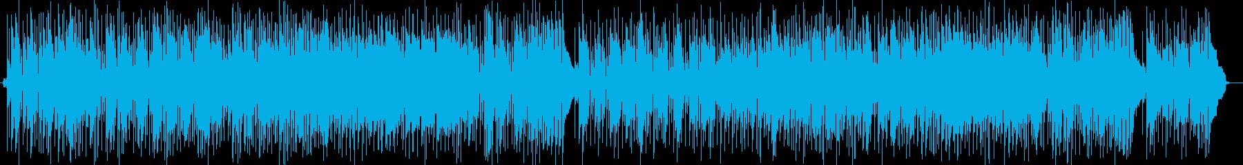 軽快で大人なセッション的なフュージョンの再生済みの波形