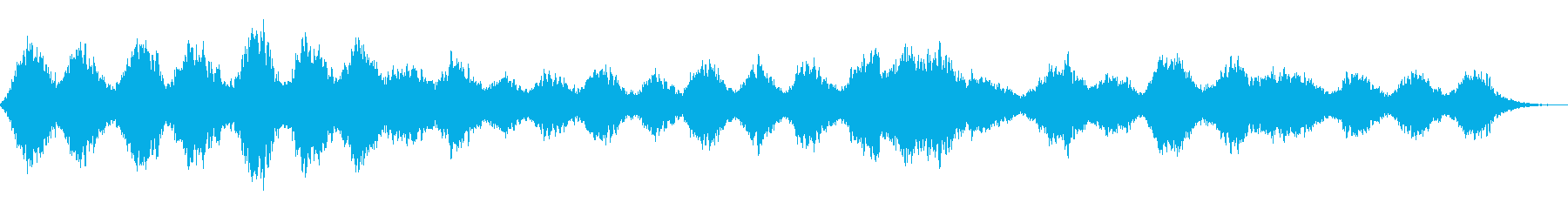 瞑想のためのアンビエントの再生済みの波形