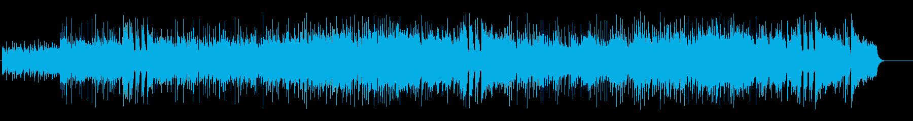 おだやかさに満ち溢れたボサノヴァの再生済みの波形