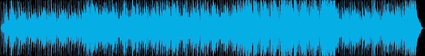 ドラム生演奏による爽やかフュージョンの再生済みの波形