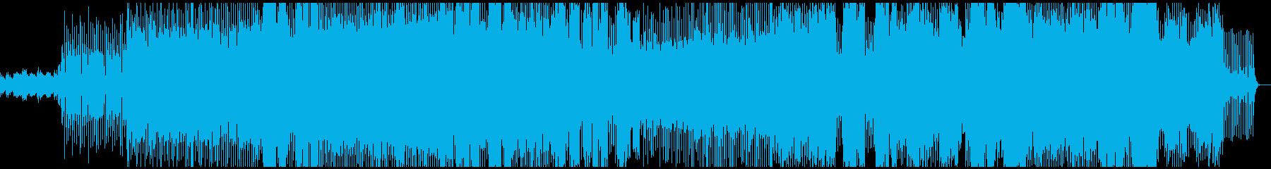 気分が上がるEDMの再生済みの波形