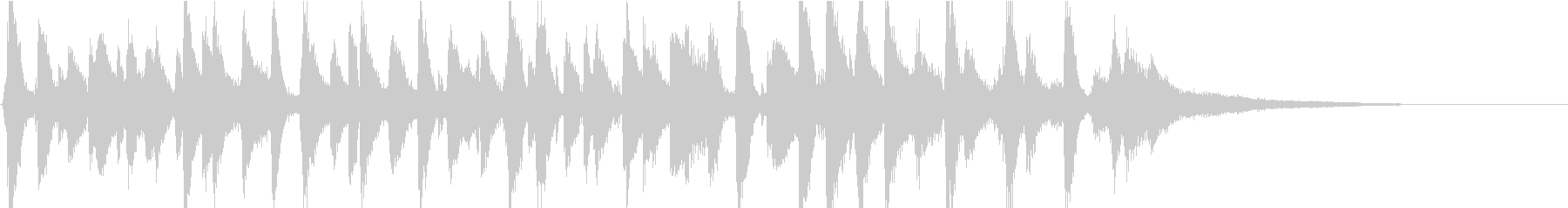 明るいピアノオールドジャズバンドジングルの未再生の波形