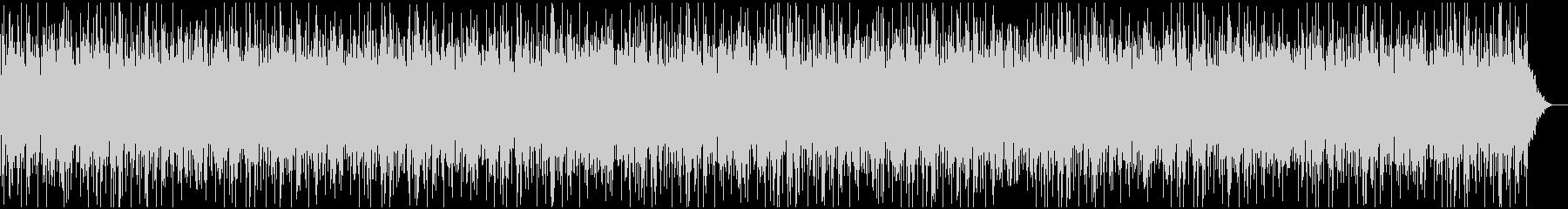 ゆったり包み込まれる高音のオルゴールの曲の未再生の波形