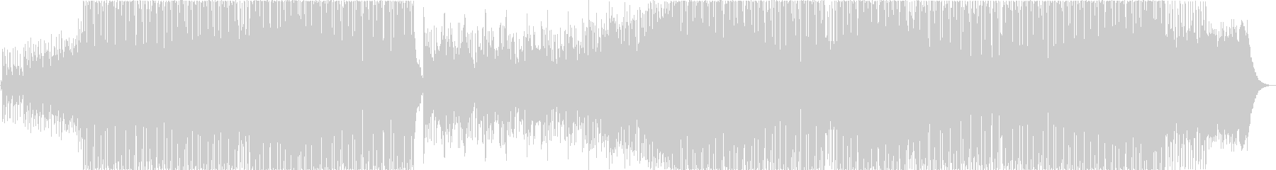 ハードコアの未再生の波形