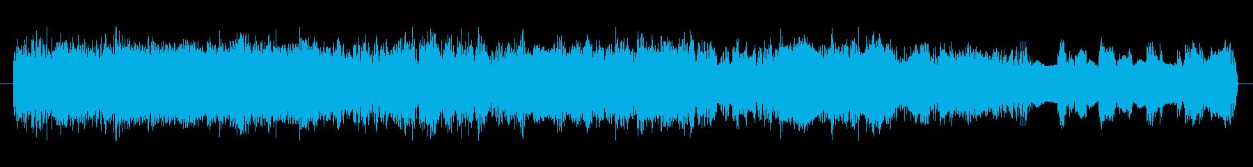 電撃音SEの再生済みの波形