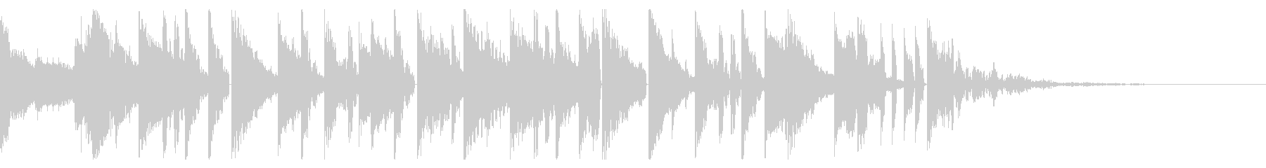 Tonal FX、160 BPMの未再生の波形