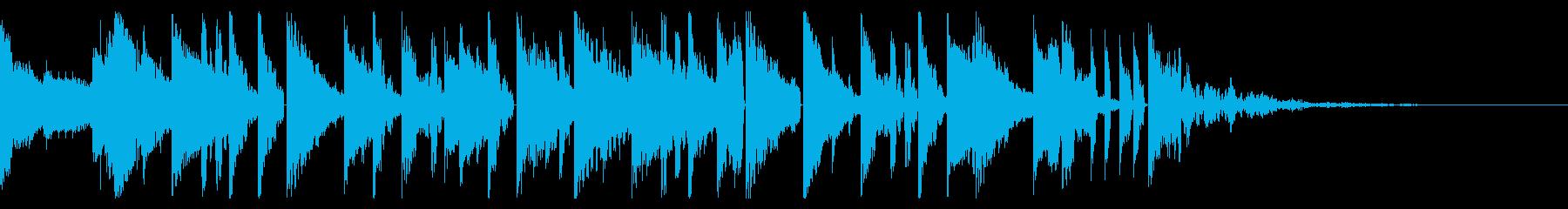 Tonal FX、160 BPMの再生済みの波形