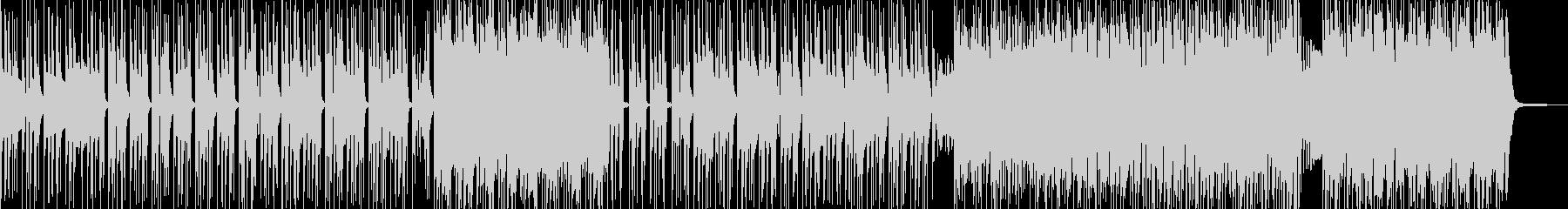 無機質&異次元・妖艶なヒップホップ A2の未再生の波形