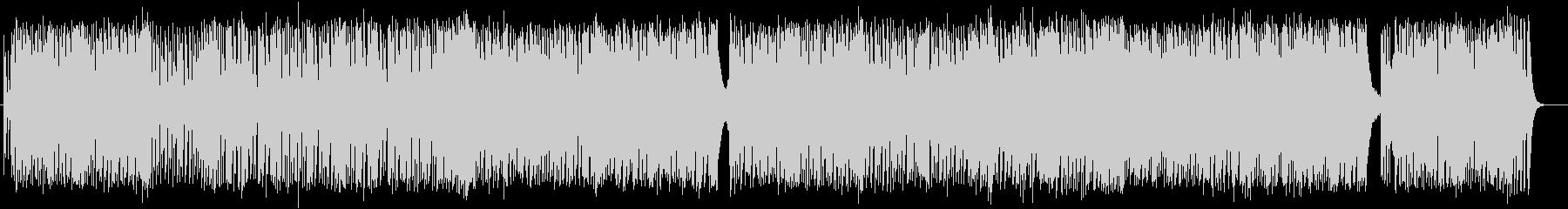 独特なテンポの緩やかシンセサウンドの未再生の波形