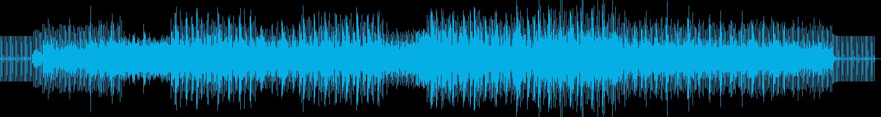 エレクトロニックの再生済みの波形