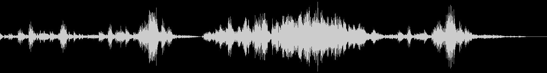 Chopin Etude Op10-3の未再生の波形