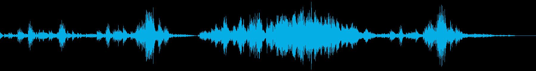 Chopin Etude Op10-3の再生済みの波形