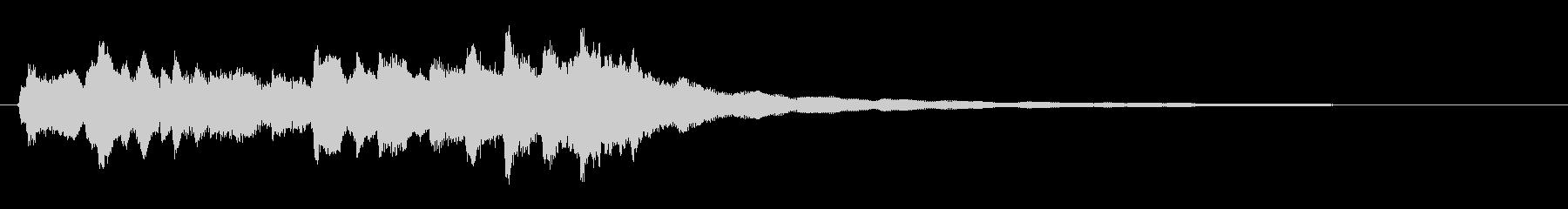 エレクトリックギター、フランジャー...の未再生の波形