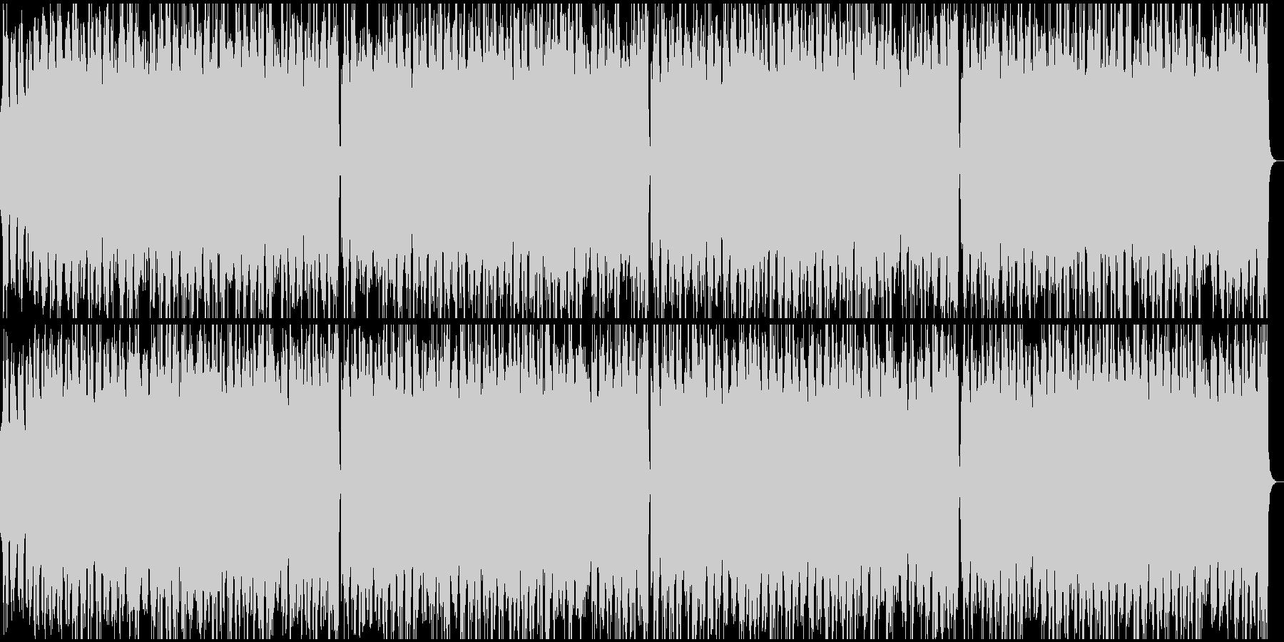 手回しオルガン風BGMの未再生の波形