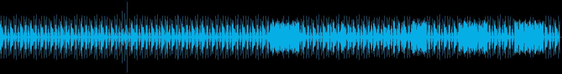 hiphop pianoの再生済みの波形