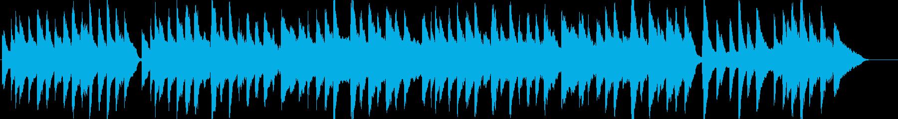 シャボン玉・童謡・ピアノ・ストリングスの再生済みの波形