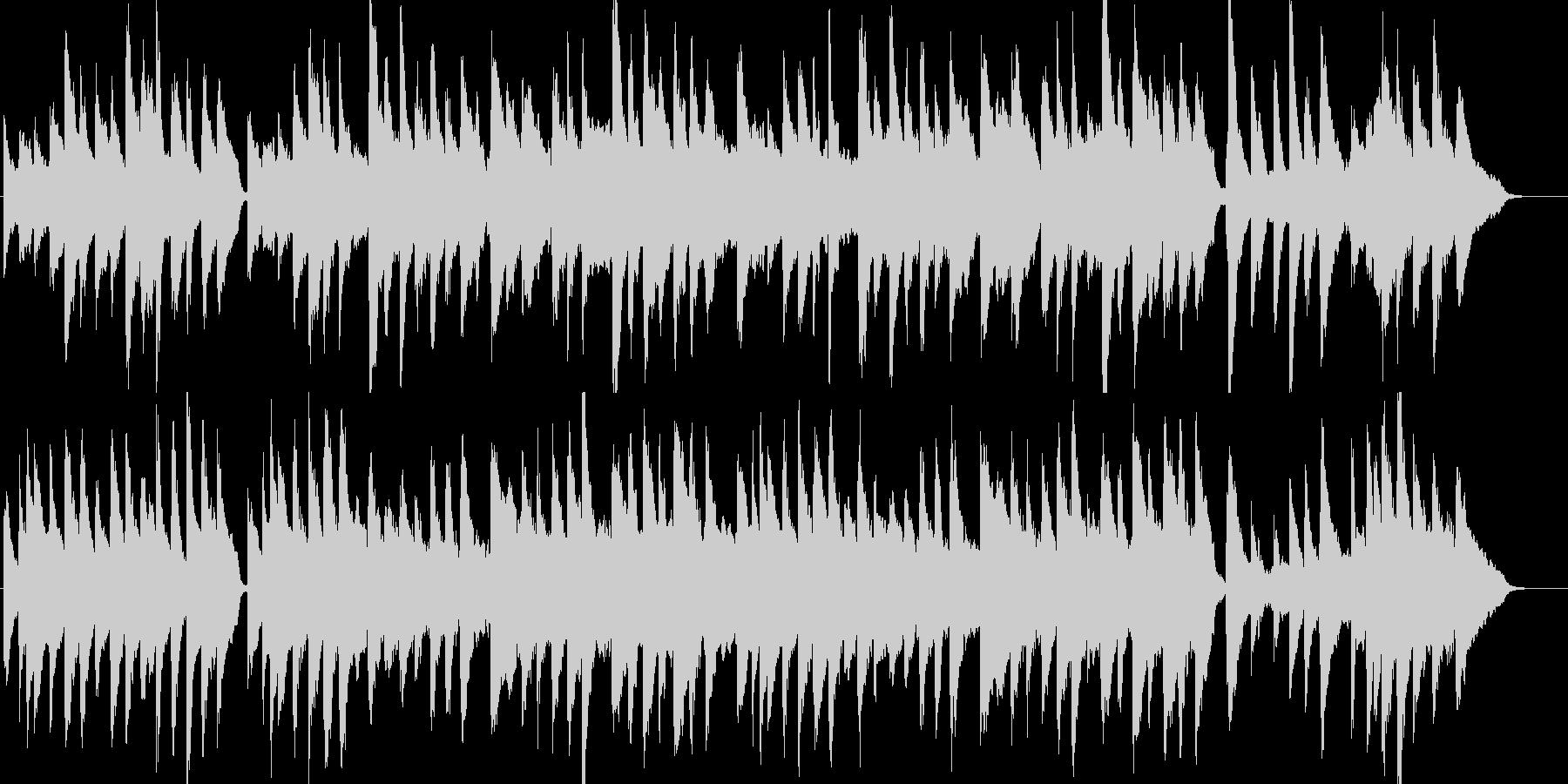 シャボン玉・童謡・ピアノ・ストリングスの未再生の波形